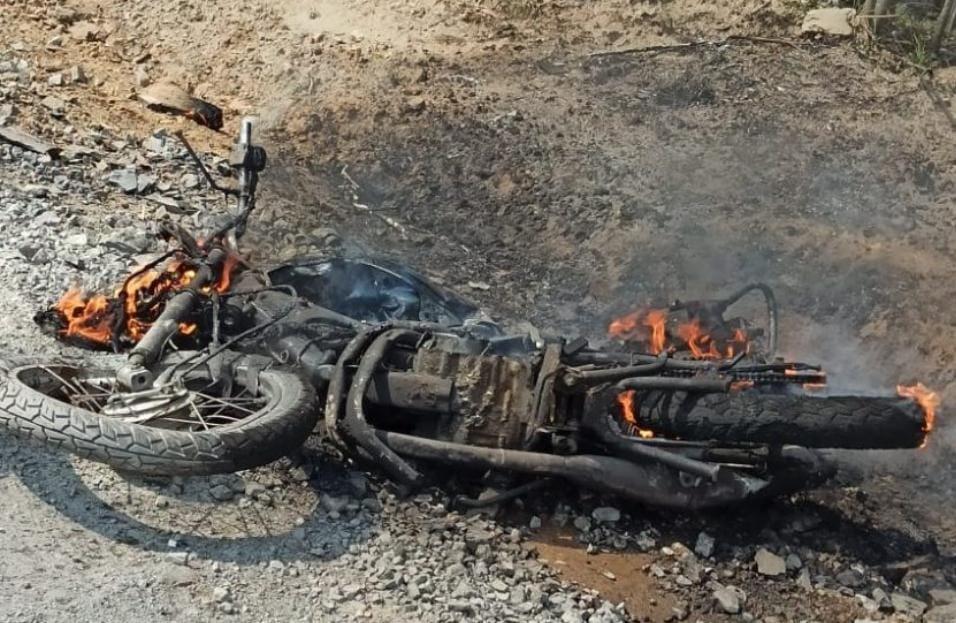 Rapaz morre em acidente envolvendo motocicleta no interior de São João do Triunfo